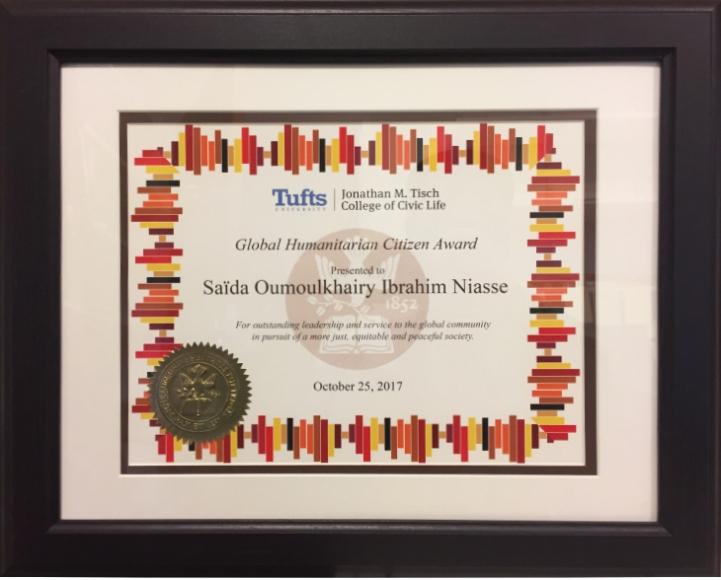 Ceremony Gallery From Tufts University – Mama Kiota's Message